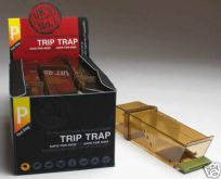 Trip Trap humane, no kill, mouse trap : Also ideal for escaped hamsters!